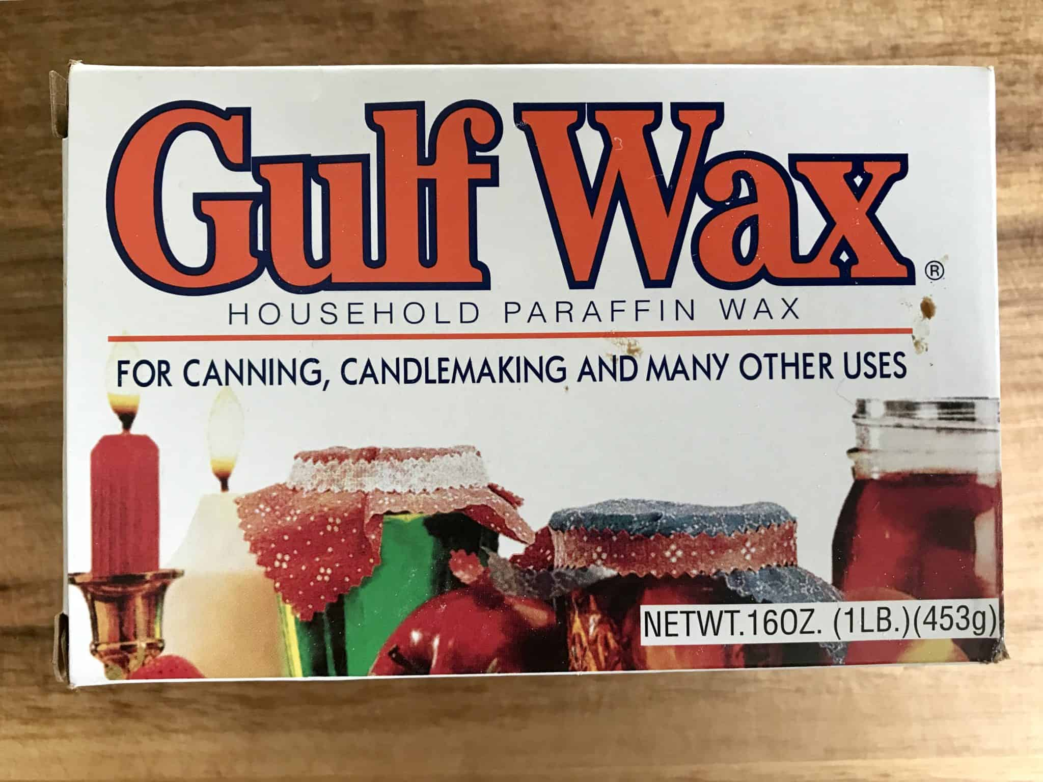 Gulf Wax box for reference