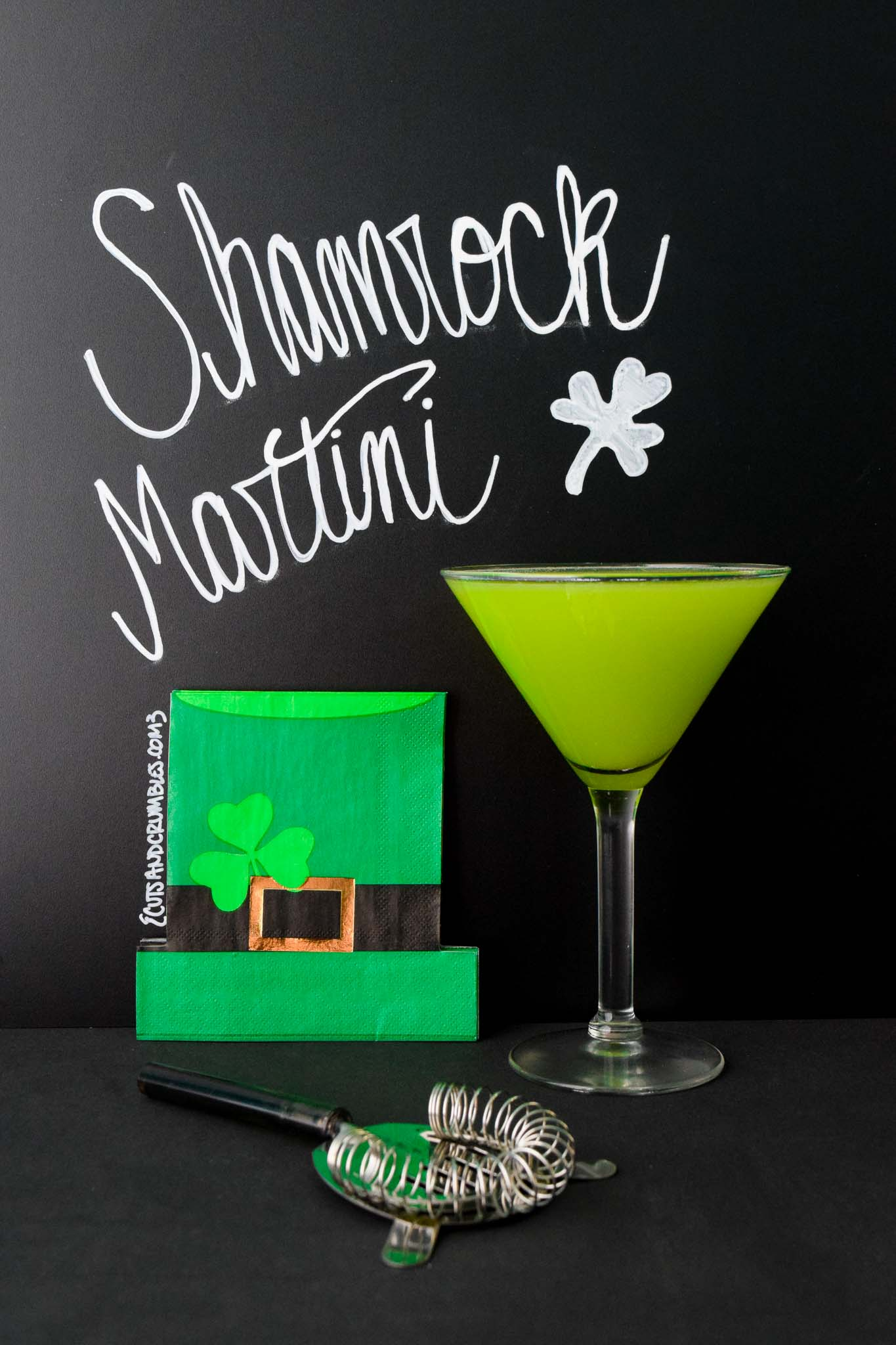 shamrock martini