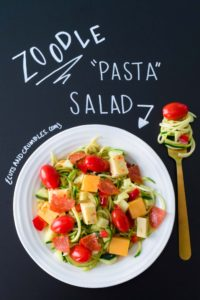 Zoodle Pasta Salad updated photo