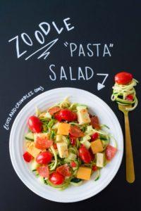Zoodle Pasta Salad