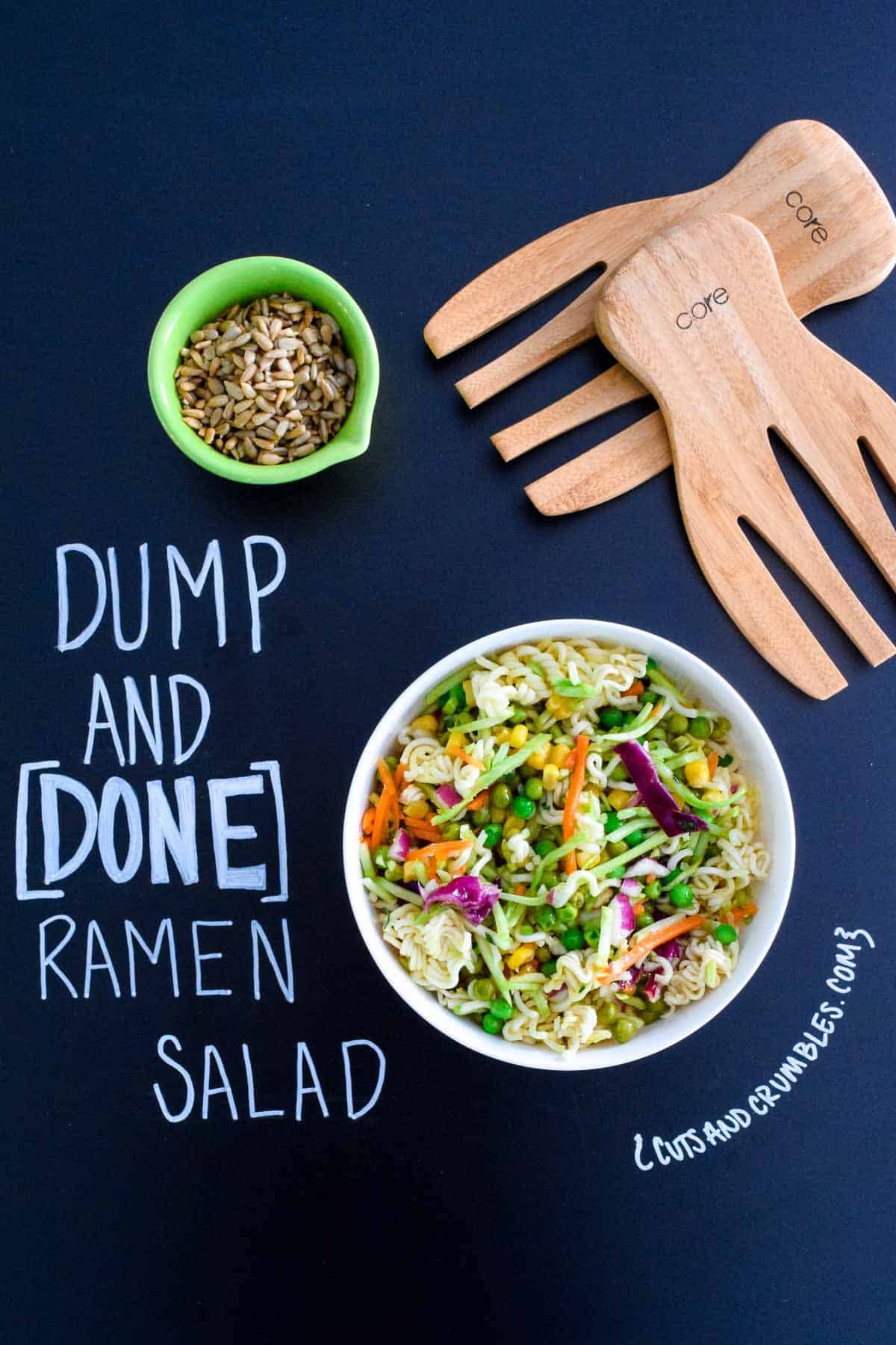 Dump and Done Ramen Salad