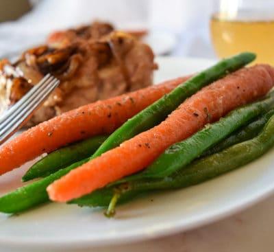 Easy Sautéed Carrots and Green Beans