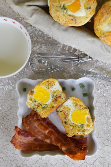 bacon and egg breakfast boulders