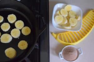 Banana churros old photo