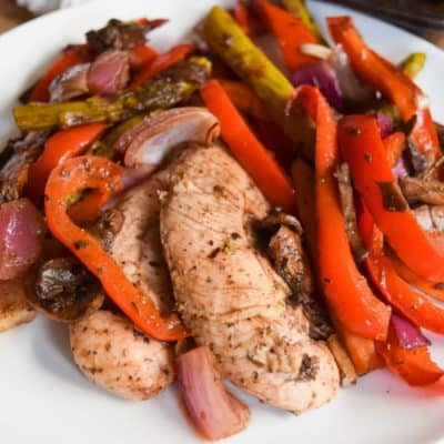 Balsamic Chicken and Veggies