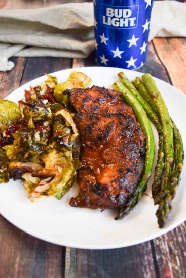 Chicken Thighs and Asparagus -8