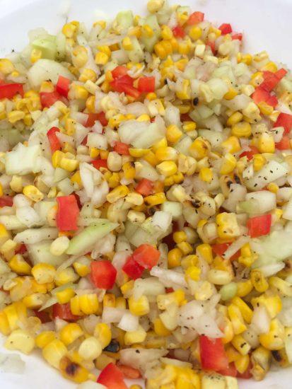 grilled corn salad