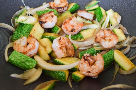 Hibachi Shrimp and Veggies-5