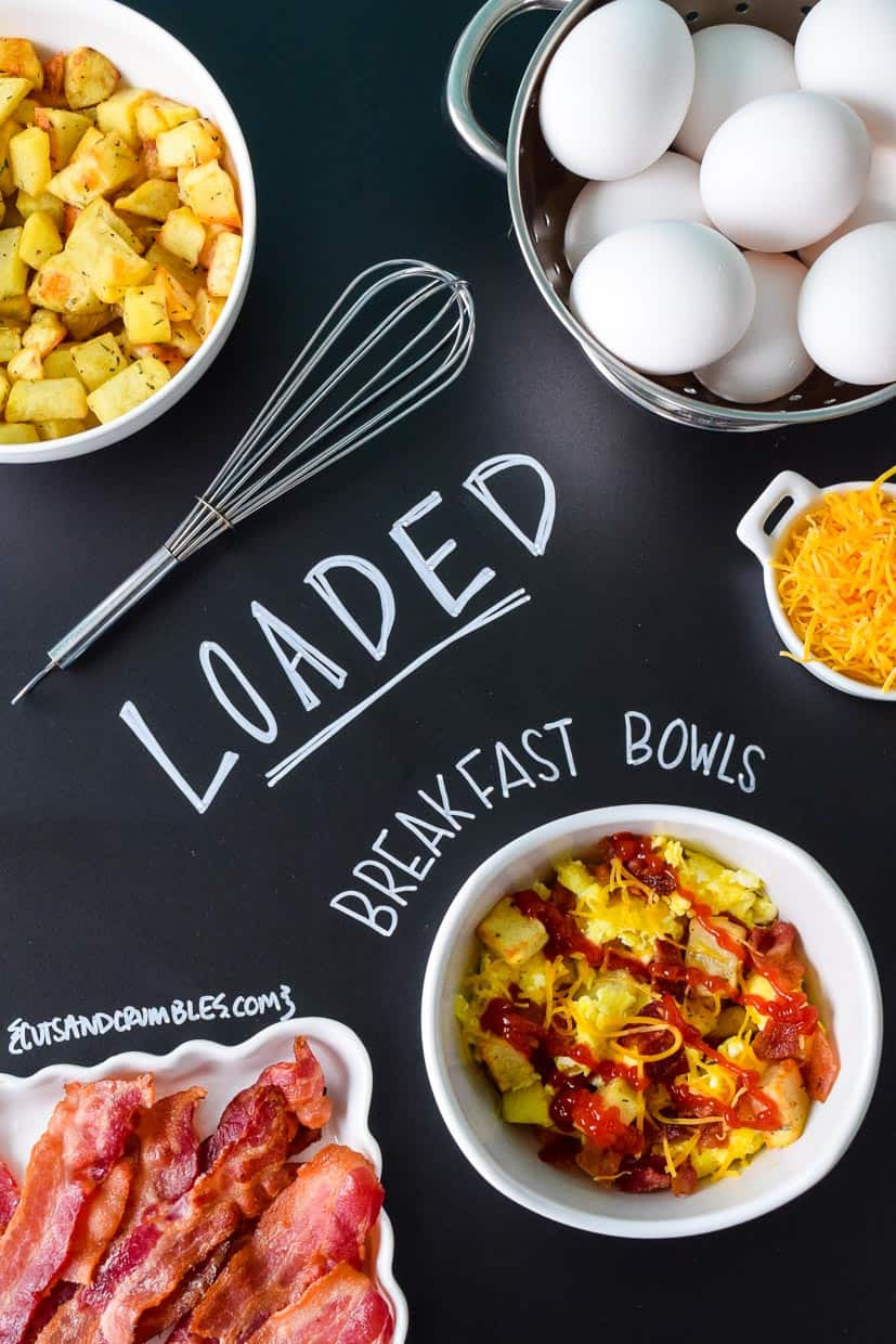 Loaded Breakfast Bowls