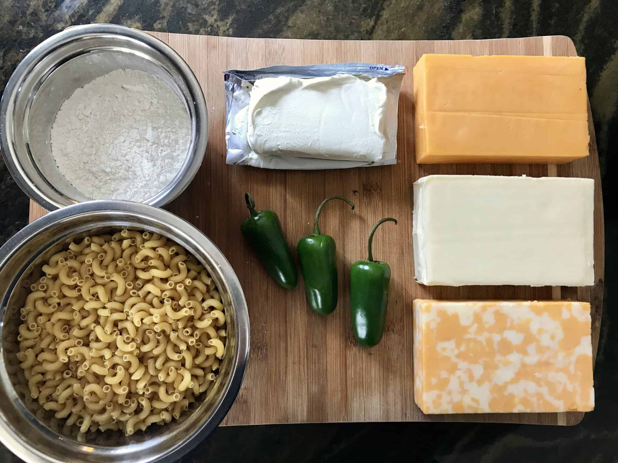 Mac n Cheese Ingredients