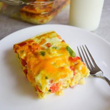 ham and egg casserole