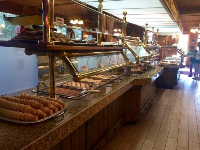 Giant Crab Restaurant dessert buffet bar