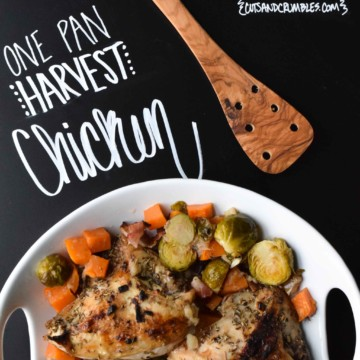 one pan harvest chicken