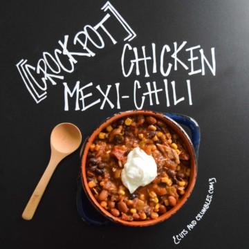 Crockpot Chicken Mexi-Chili