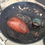 easy double smoked turkey