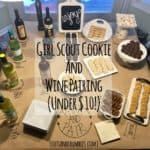 Girl Scout Cookie and Wine Pairing ($10 or Less!)