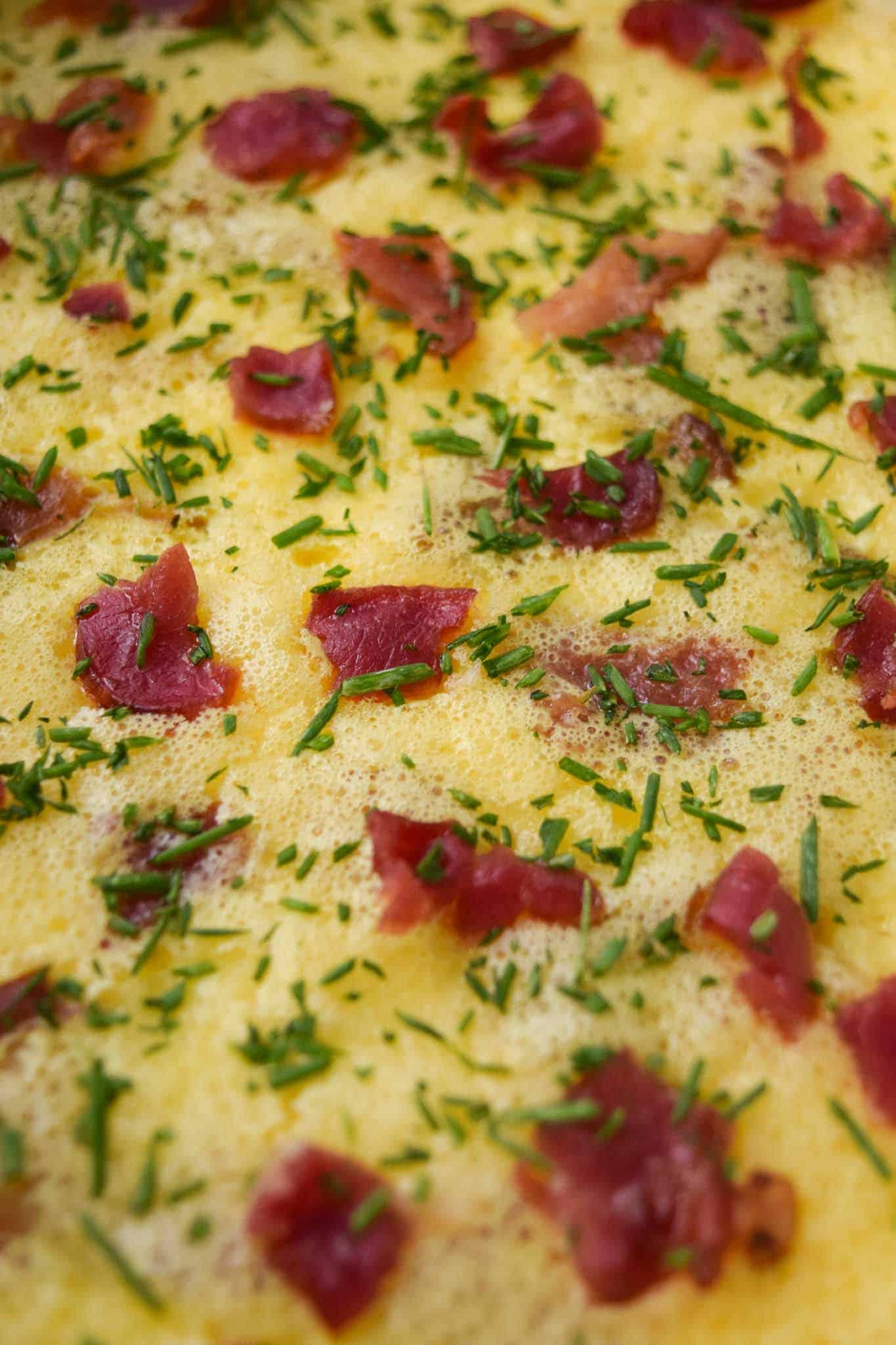 Bacon and Gruyere Breakfast Casserole