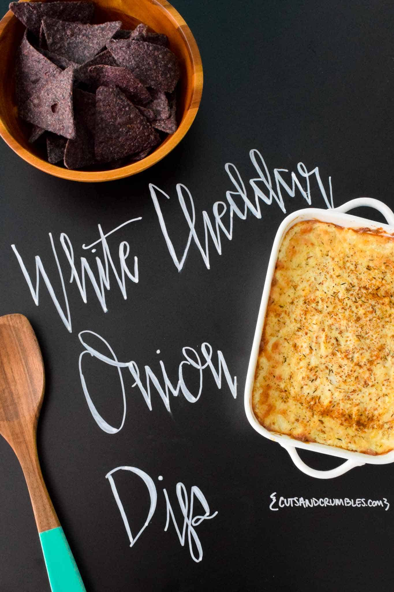 White Cheddar Onion Dip