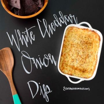 White Cheddar Onion Dip