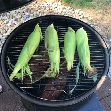 Smoked Corn the Cob