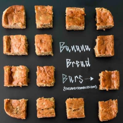Banana Bread Bars