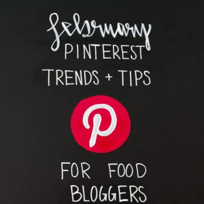 February PInterest Trends and Tips for Food Bloggers