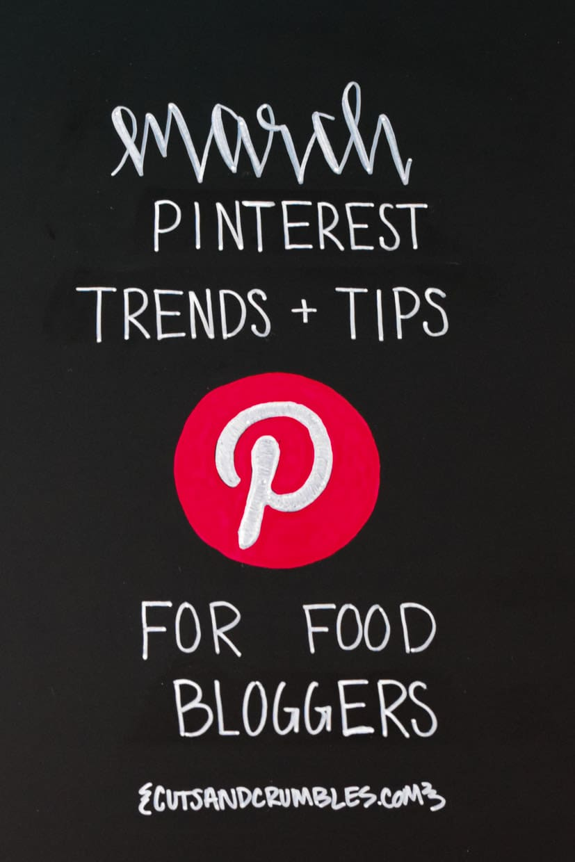 March Pinterest Monthly Trends and Tips for Food Bloggers Square-3