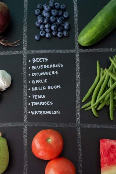 August Seasonal Produce Guide