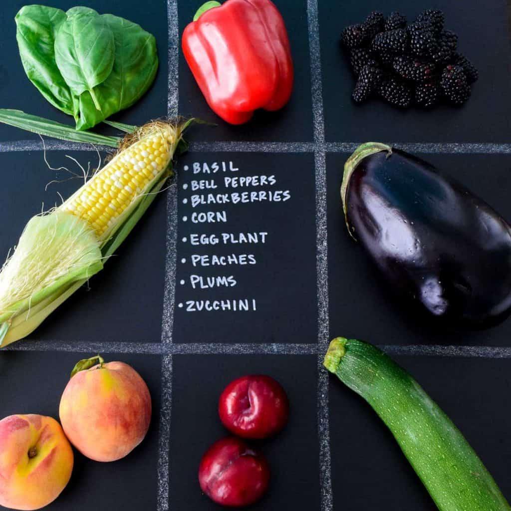 July Seasonal Produce Guide