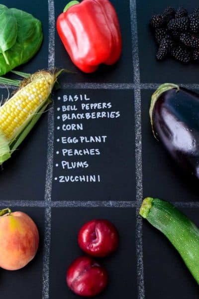 July Seasonal Produce Guide