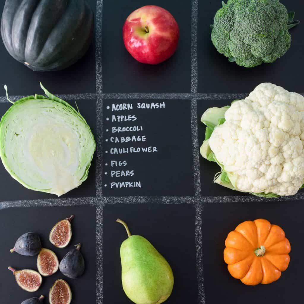 October Seasonal Produce Guide