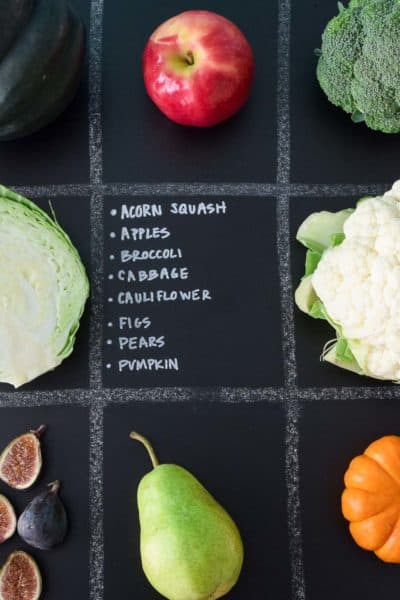 October Seasonal Produce Guide