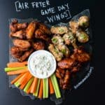 Air Fryer Game Day Wings