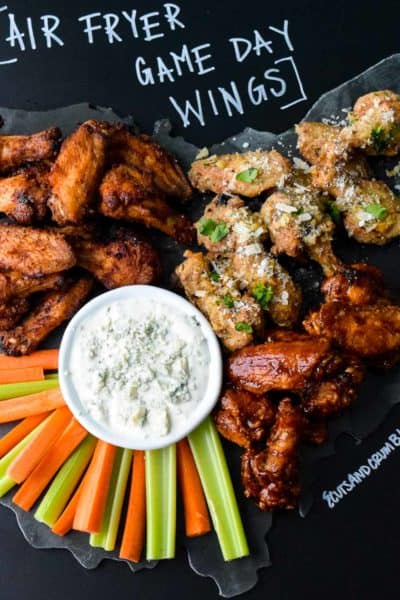 Air Fryer Game Day Wings