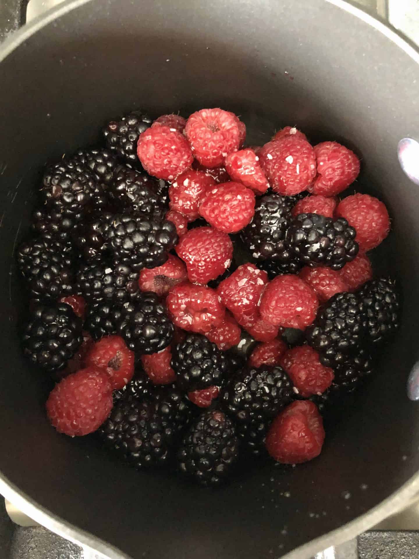 Fresh Mixed Berry Compote